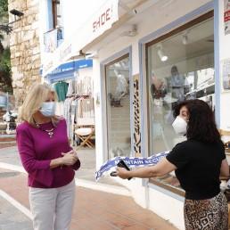 Angeles Munoz in Marbella this week